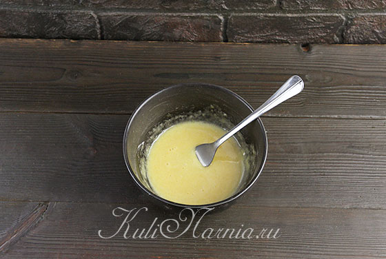 Готовим заварную основу для крема