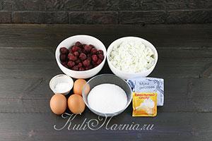 Творожная запеканка с рисовой мукой ингредиенты