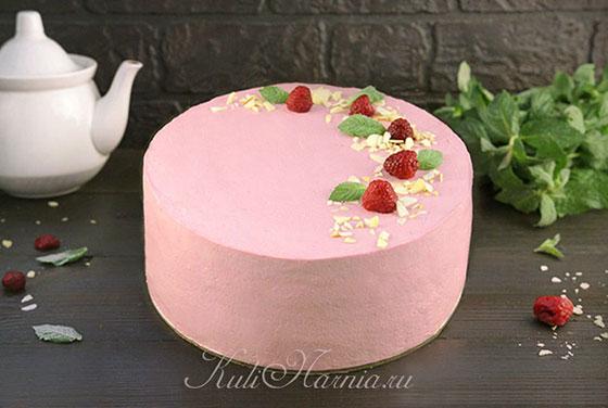Оформляем маковый торт