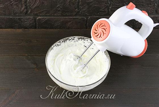 Взбиваем сливки для крема